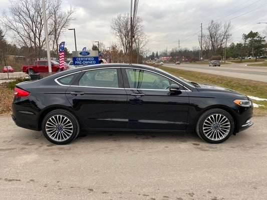 Randy Wise Ford >> 2017 Ford Fusion SE in Durand, MI | Flint Ford Fusion ...